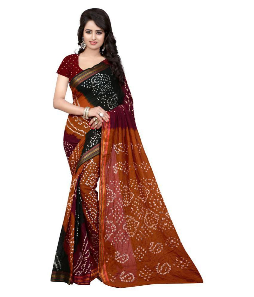 Glamour Fashion Multicoloured Cotton Saree