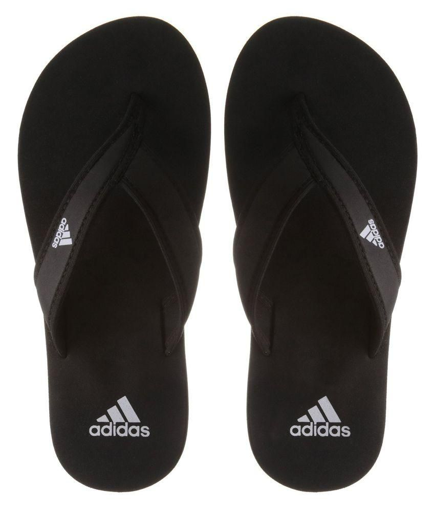 797d30bf04c3 Adidas Men Black Adi Rio Flip Flops Price in India- Buy Adidas Men ...