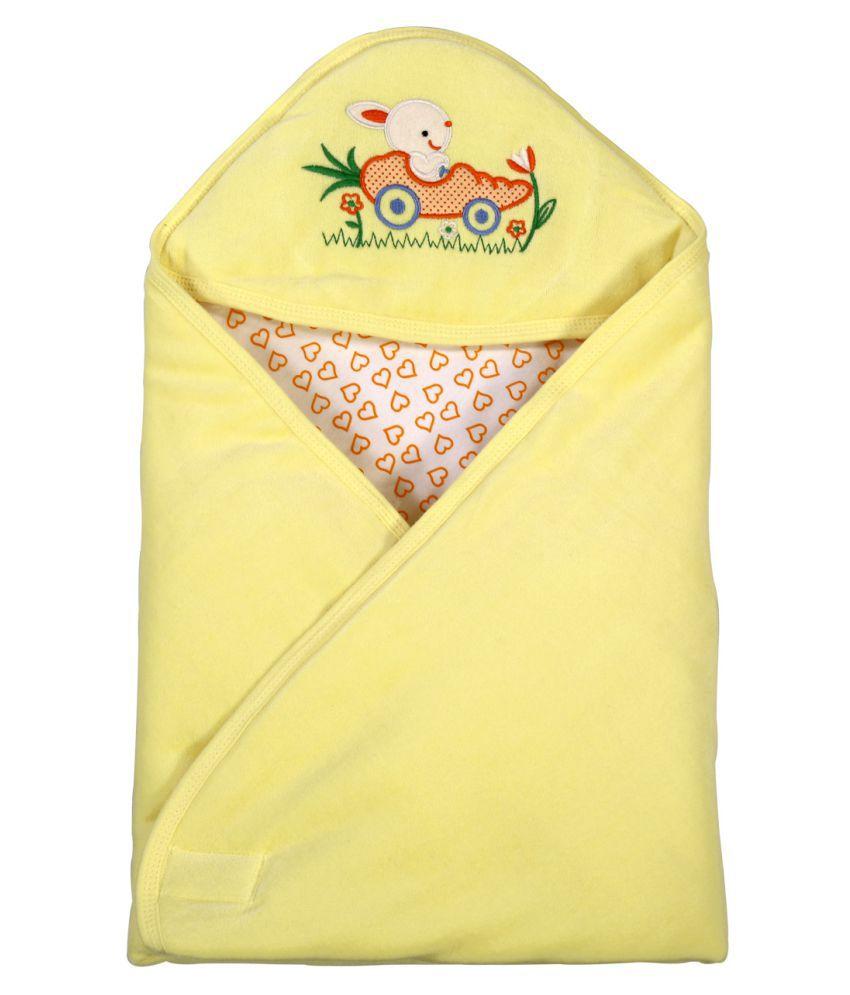 Brim Hugs & Cuddles Yellow Baby Wrapper