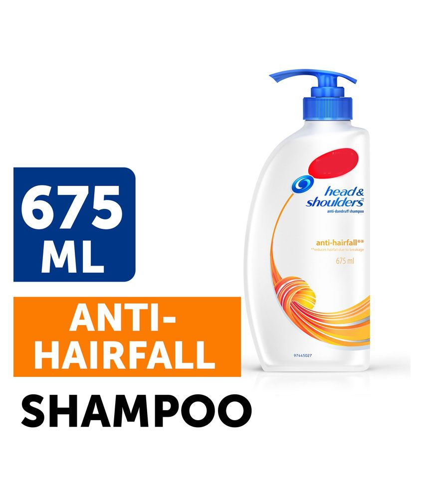 Head & Shoulder Anti Hair Fall Hair Shampoo | 675 ml