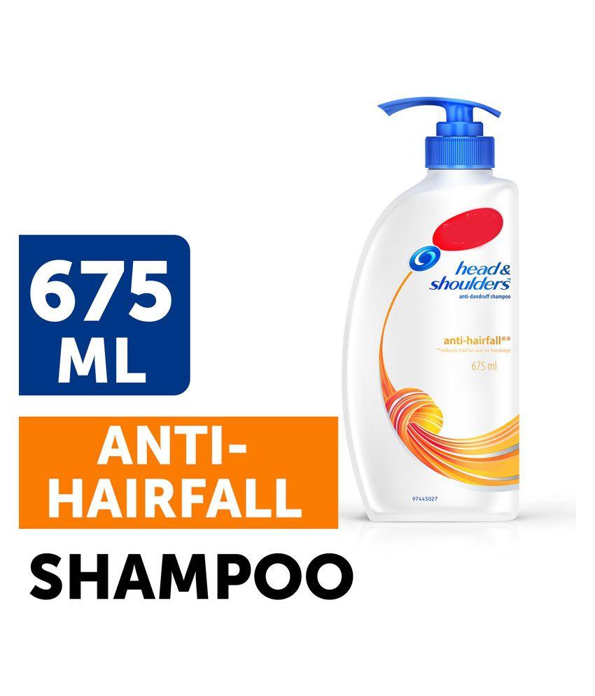 Head & Shoulder Anti Hair Fall Hair Shampoo | 675 ml: Buy ...