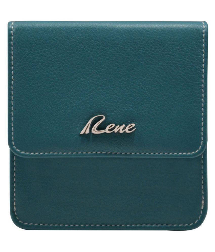Rene Blue Wallet
