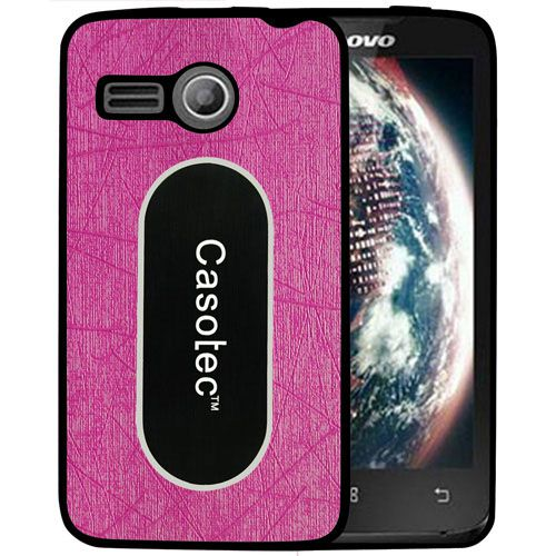 super popular 639ab 737f5 Lenovo A369i Cover by Casotec - Pink - Plain Back Covers Online at ...