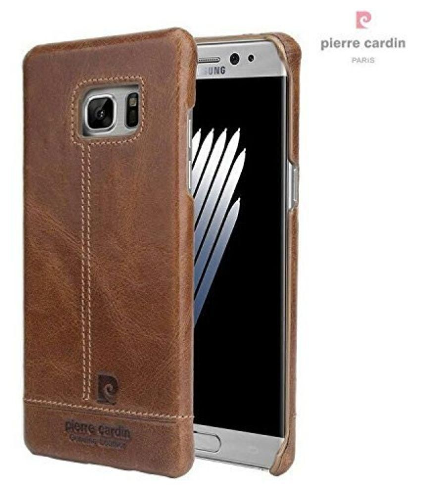 Samsung Galaxy Note 7 Cover by Pierre Cardin - Brown