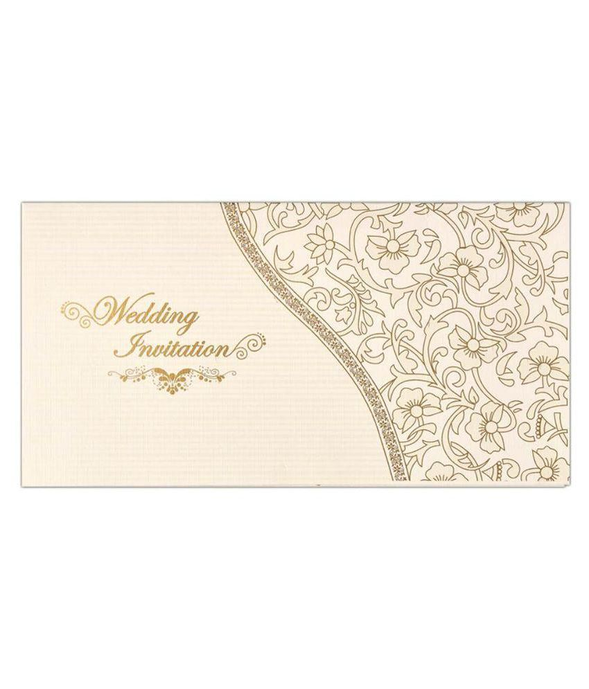 King of Cards White Christian Wedding Invitation Card - Pack of 100 ...