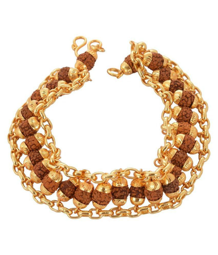 studded beaded imitation set product artificial necklace jewelry gold round tone motif with chain