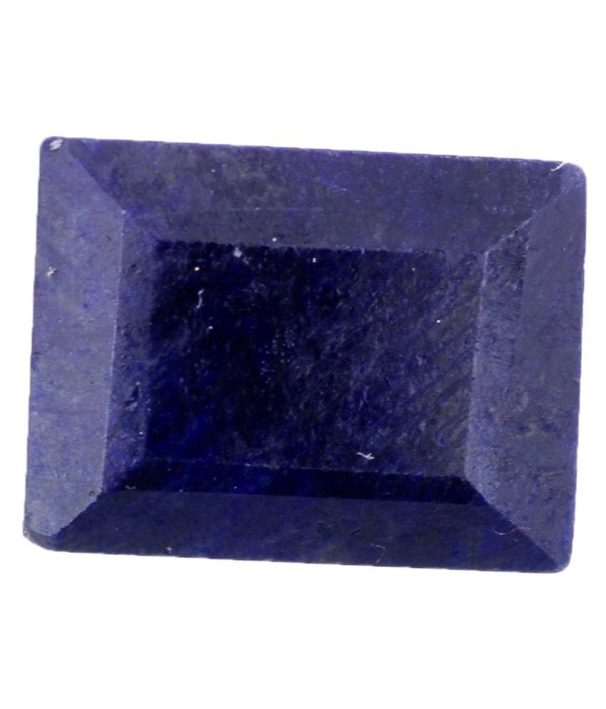 Nirvana Gems IGI Blue Sapphire Semi-precious Gemstone