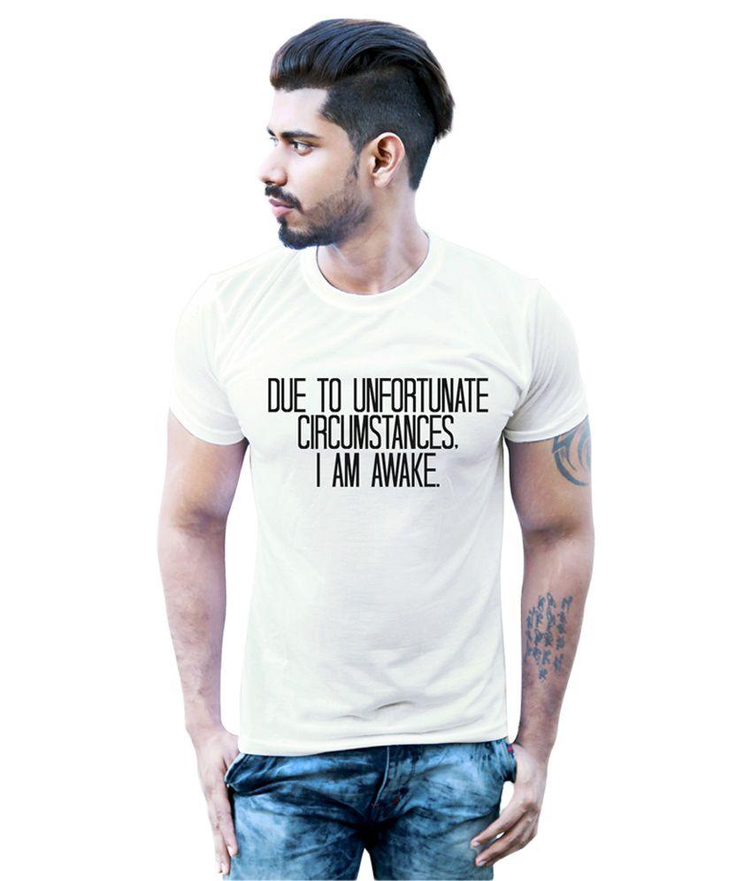 Bastard Tendencies White Round T-Shirt