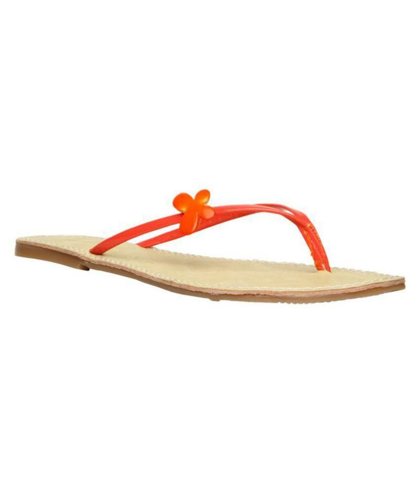 Footin Orange Slippers Art F5715283RED