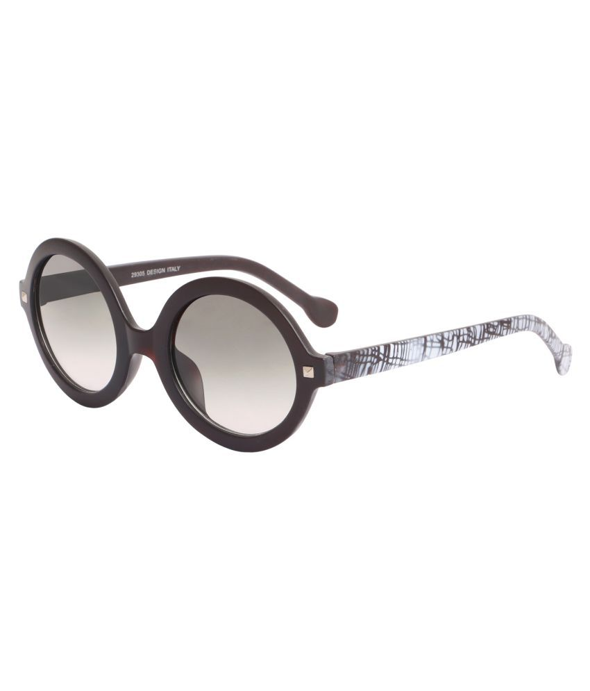 Hh Black Round Sunglasses ( )