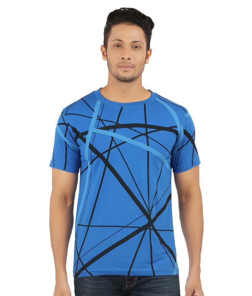 Nexen Blue Round T-Shirt