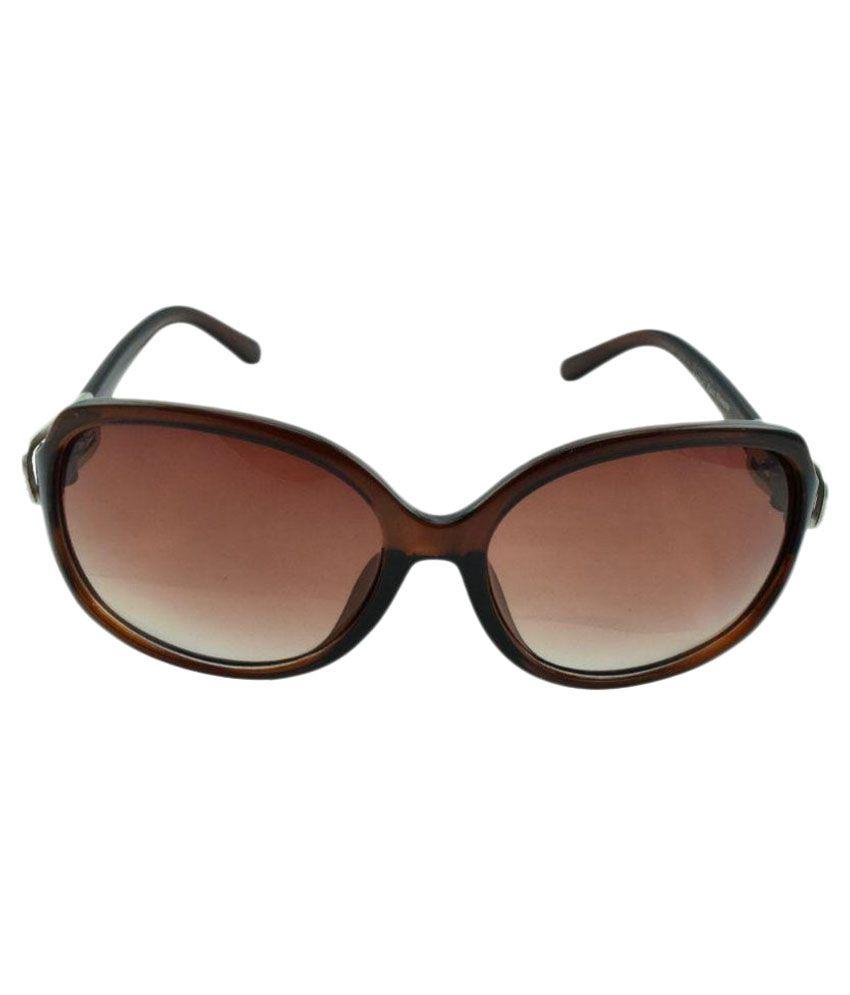 f9ee0e401d Polo House USA Brown Oval Sunglasses ( KaiziW7645brown ) - Buy Polo ...