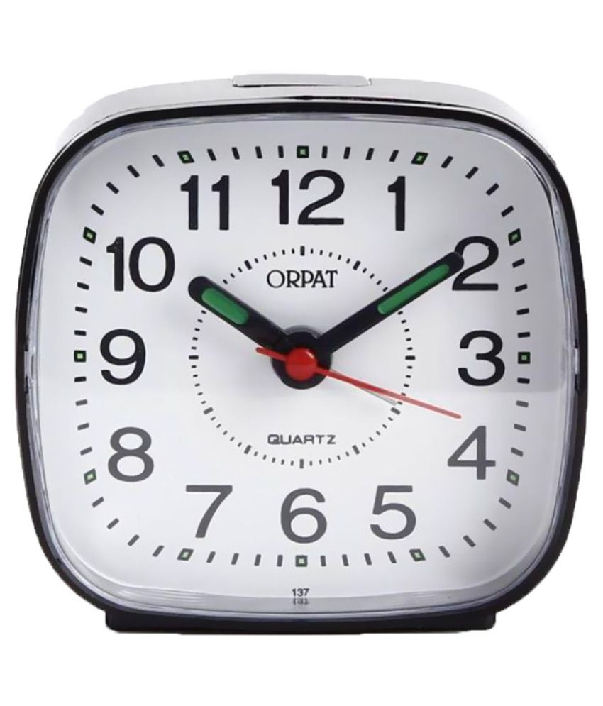 orpat analog tbb 137 alarm clock buy orpat analog tbb 137 alarm clock at best price in india on. Black Bedroom Furniture Sets. Home Design Ideas