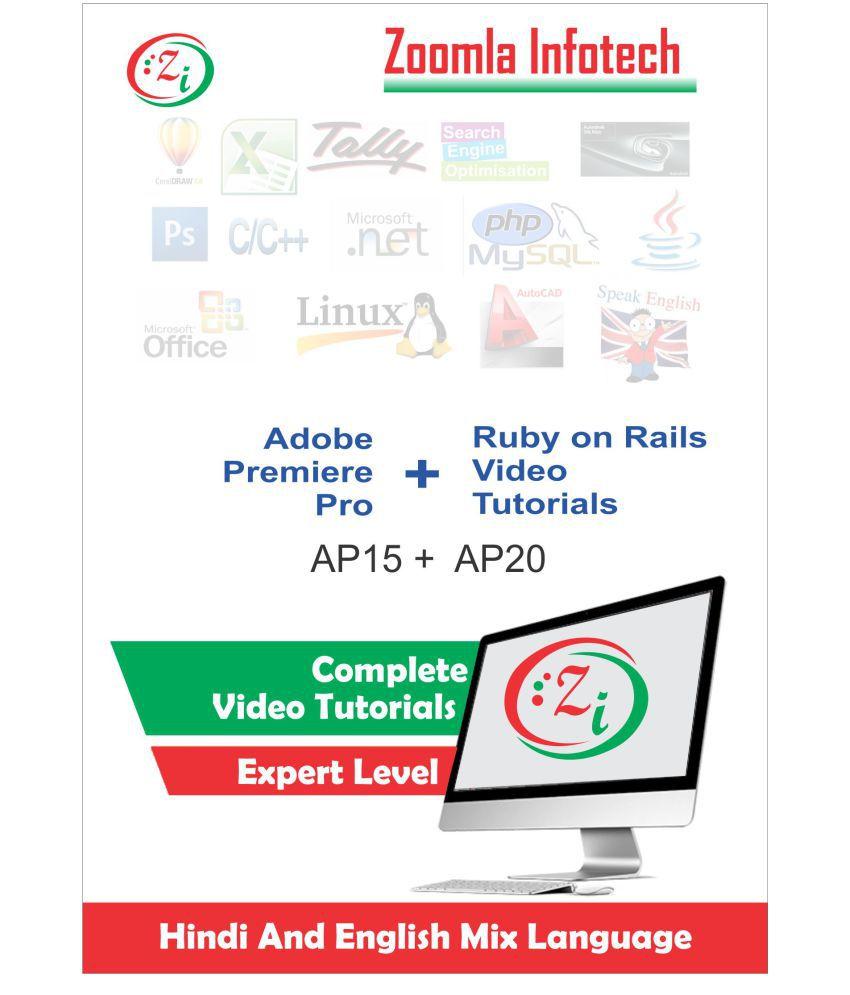 Zoomla Infotech Premiere Pro & Ruby on rails ( DVD )