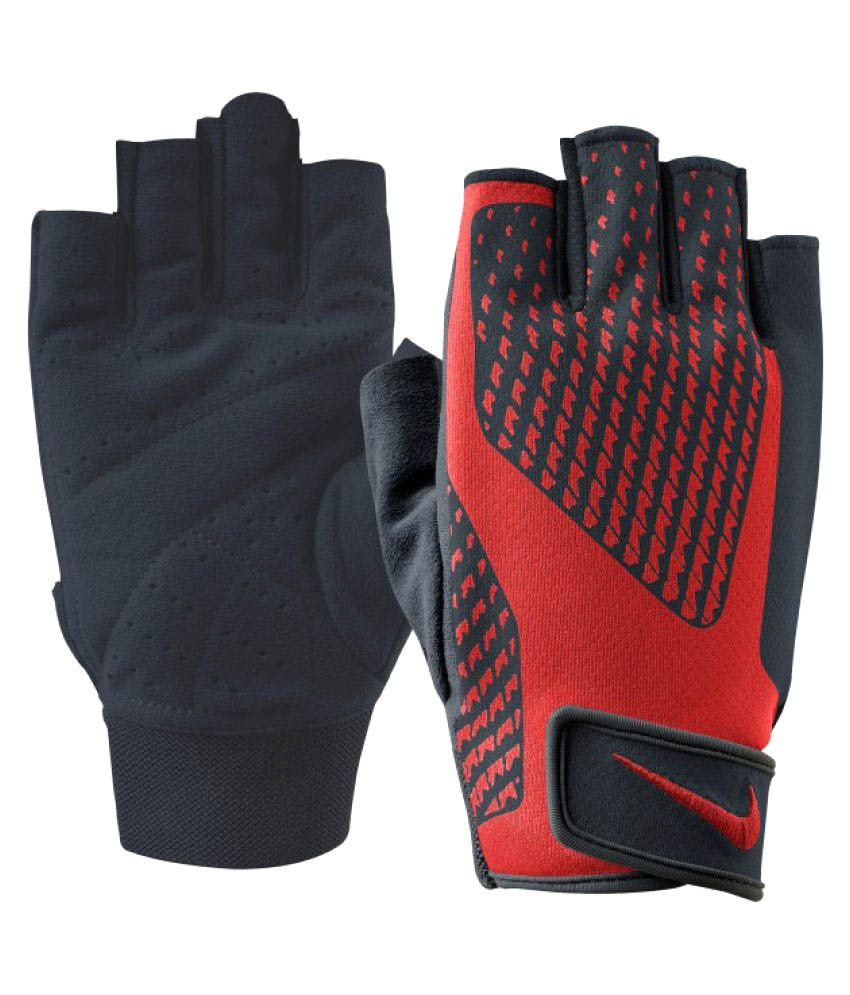 Cheap Fitness Gloves: Nike Red Gym Gloves: Buy Online At Best Price On Snapdeal