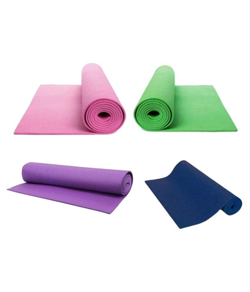Numex Multicolor Yoga Mat - Set of 4  Buy Online at Best Price on Snapdeal ce98efc17