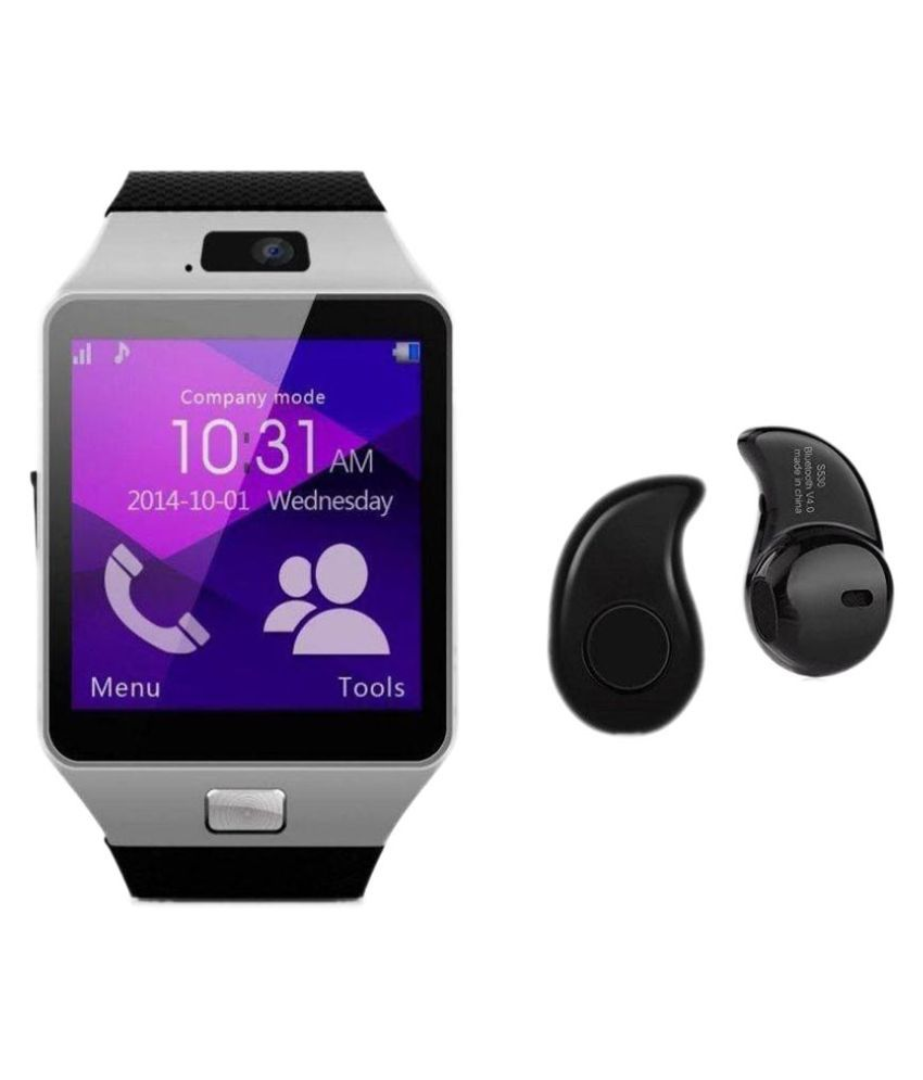 a79933c0c DUJ International t-30+bluetooth Smart Watches Silver - Wearable    Smartwatches Online at Low Prices