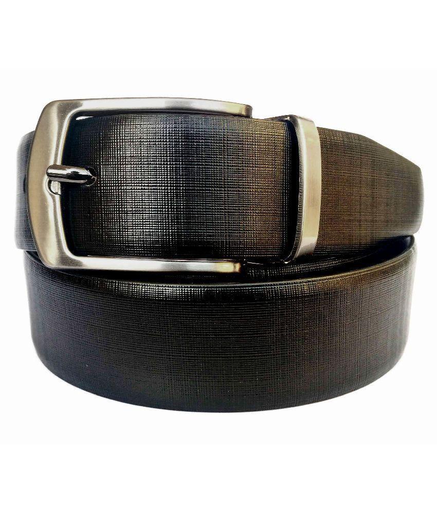 SGE Black Belt With Wallet for Men
