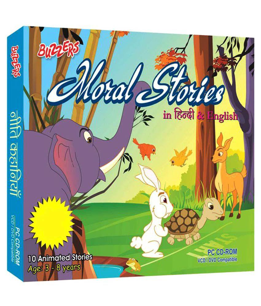 Buzzers Moral Stories Vol  1 Eng & Hindi VCD