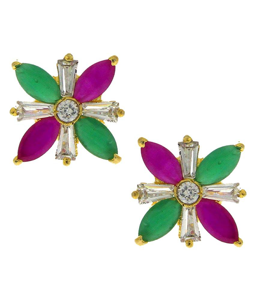 Anuradha Art Multicolour Stud Earring