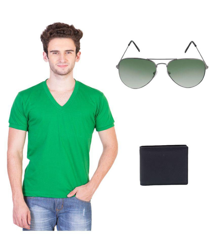 KeepSake Green V-Neck T-Shirt