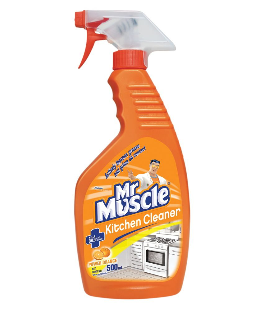 Kitchen Cleaner: Mr. Muscle Kitchen Cleaner 500 Ml: Buy Mr. Muscle Kitchen
