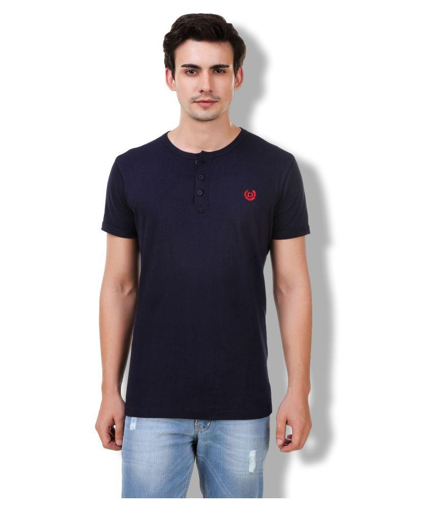 Denver Navy Henley T-Shirt