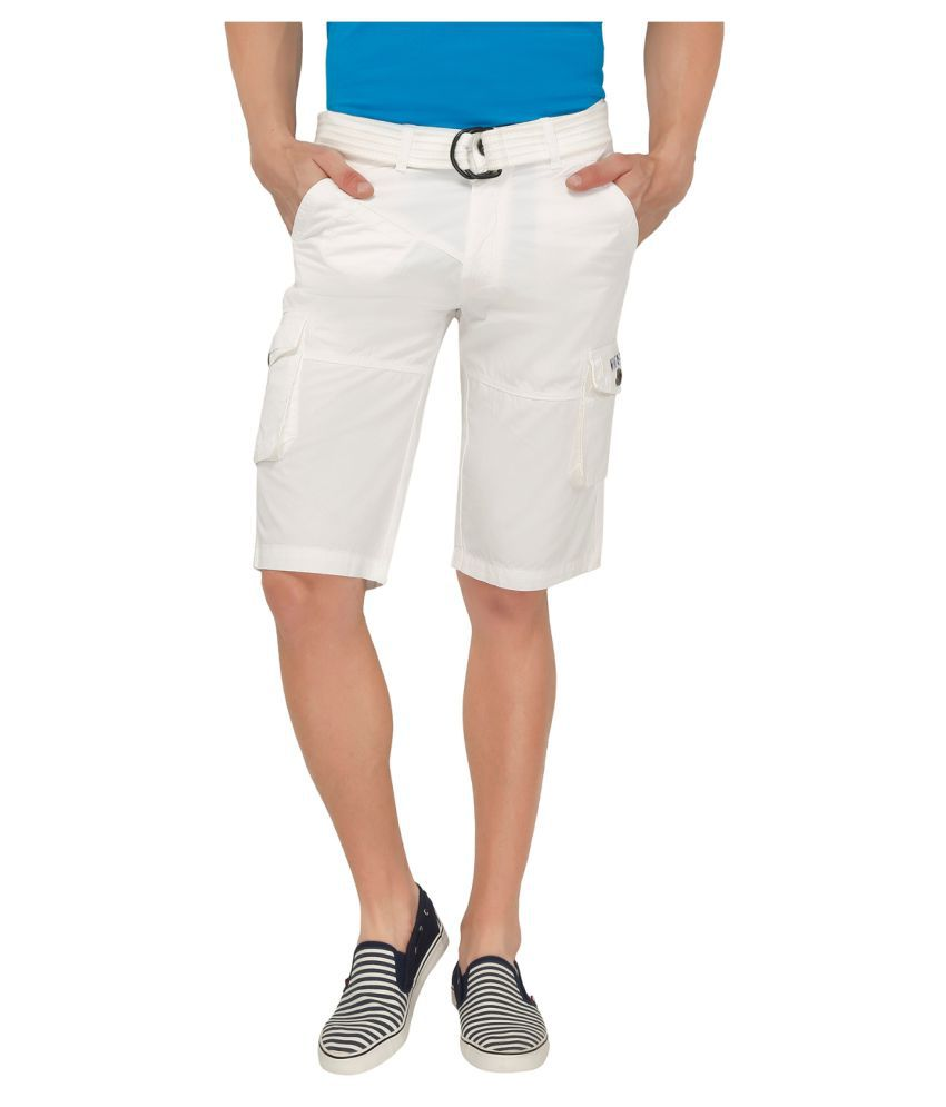 Origin White Shorts