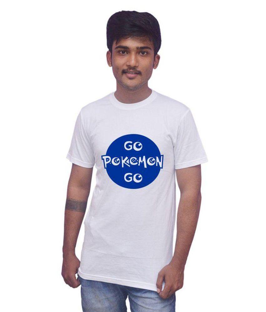 Uniplanet White Round T-Shirt