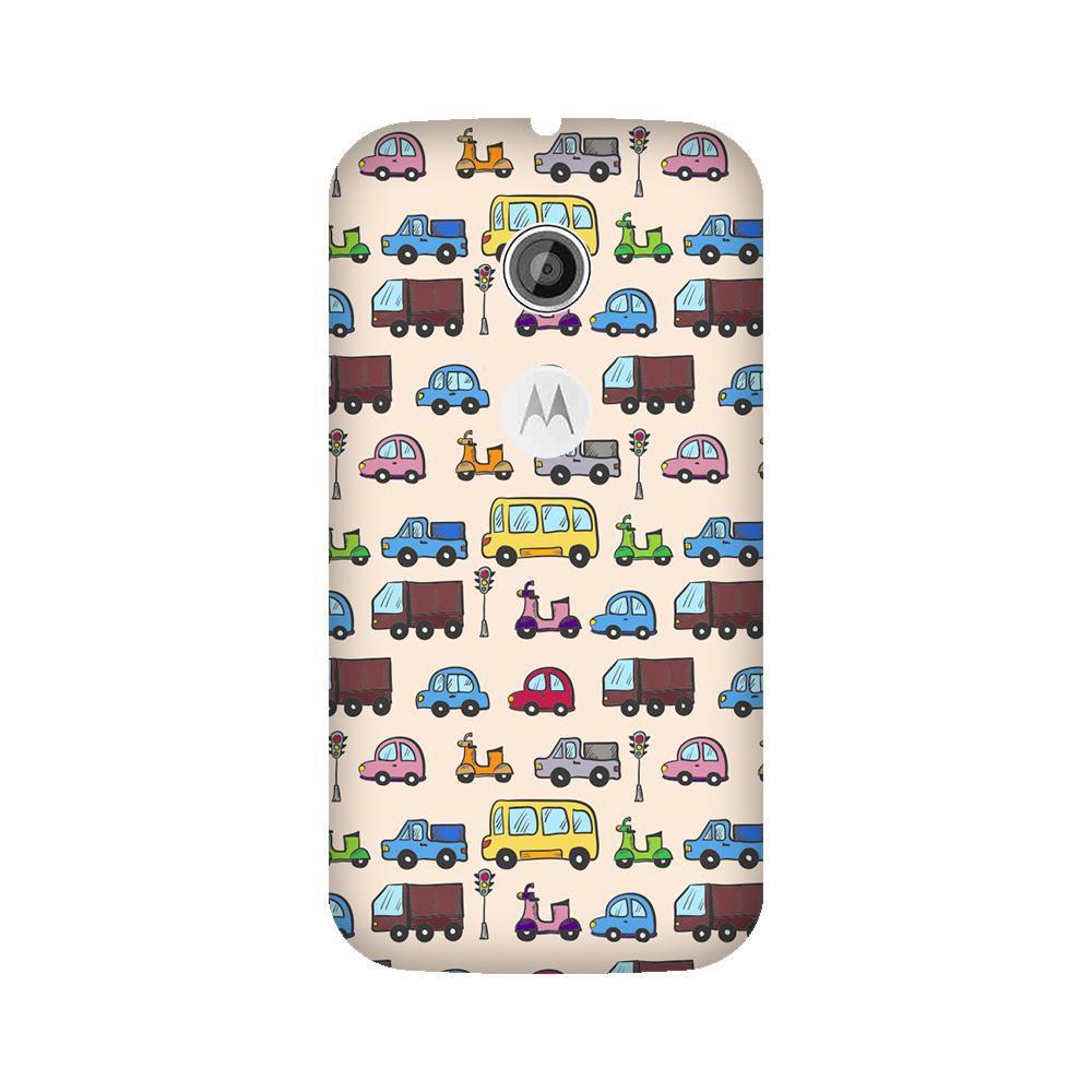 Motorola Moto E2 Printed Cover By Armourshield