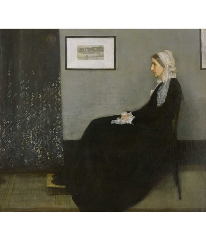 Tallenge Whistlers Mother Canvas Art Prints Without Frame Single Piece
