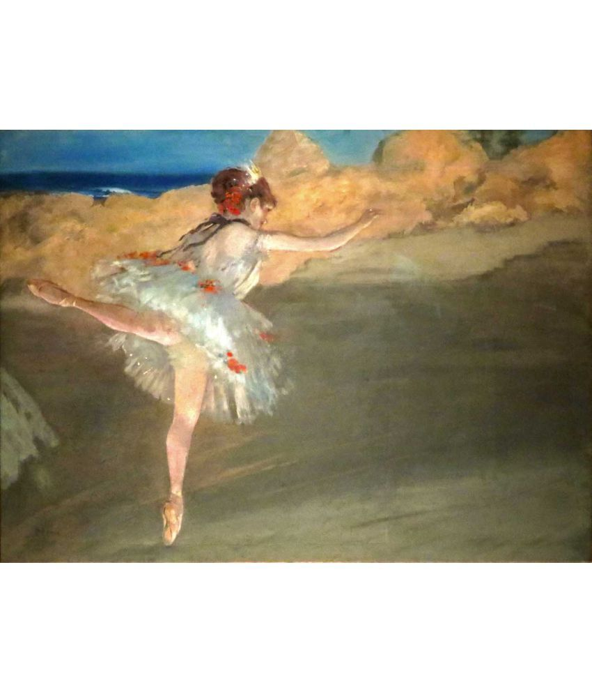 Tallenge Edgar Degas - The Star Canvas Art Prints Without Frame Single Piece