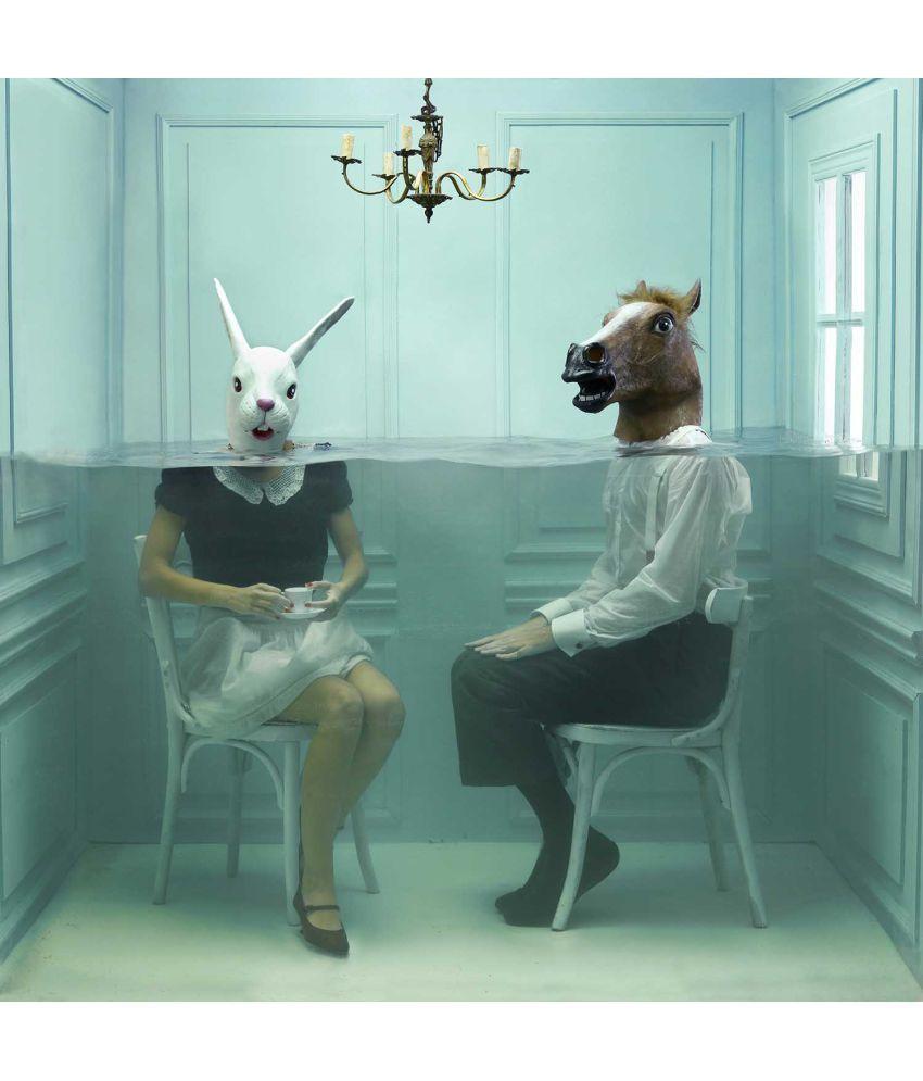 Tallenge Surrealist Art - Modern Life Canvas Art Prints Without Frame Single Piece