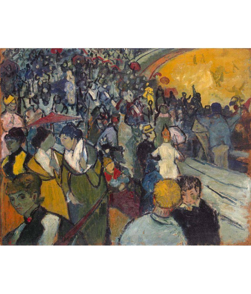 Tallenge Les Arenes Canvas Art Prints Without Frame Single Piece