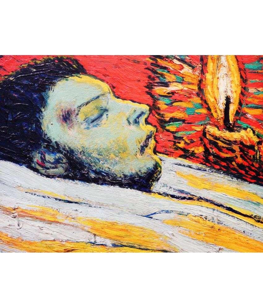 Tallenge Picasso - La Muerte De Casagemas  Canvas Art Prints Without Frame Single Piece