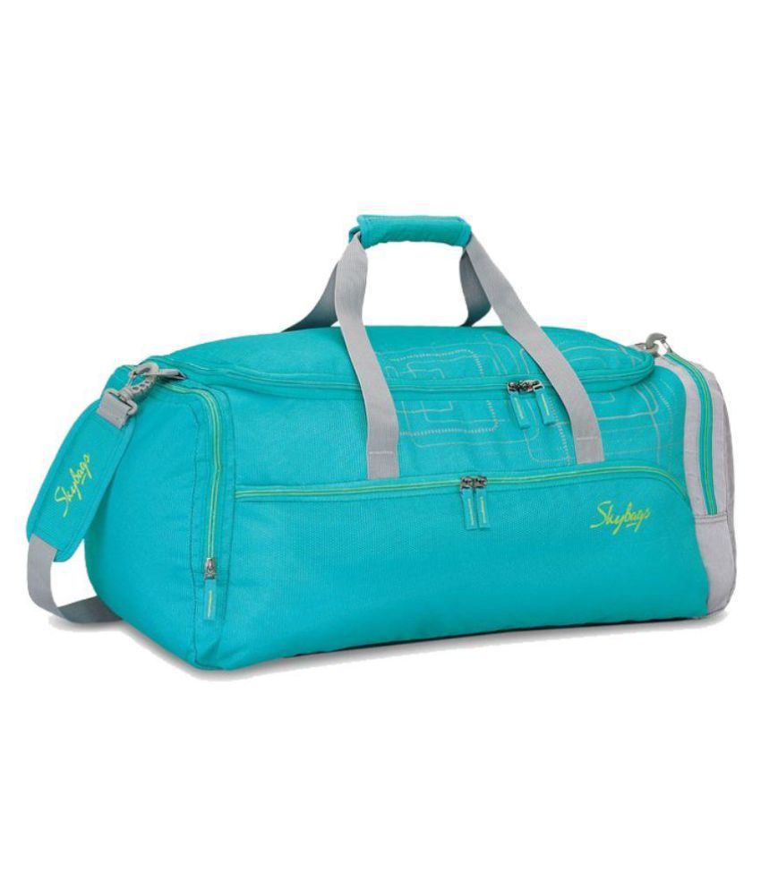 Skybags Turquoise Solid Duffle Bag - Buy Skybags Turquoise Solid ... 956d066528971