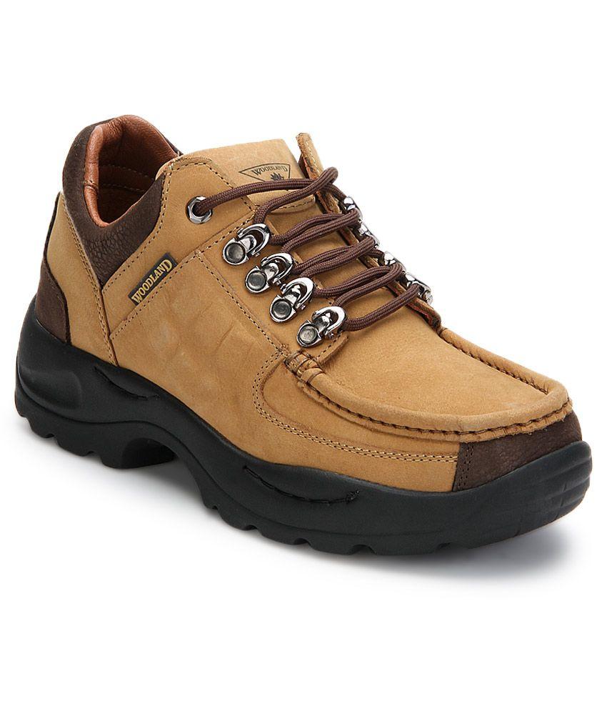 Woodland Tan Outdoor Shoes Art Mg4092cam