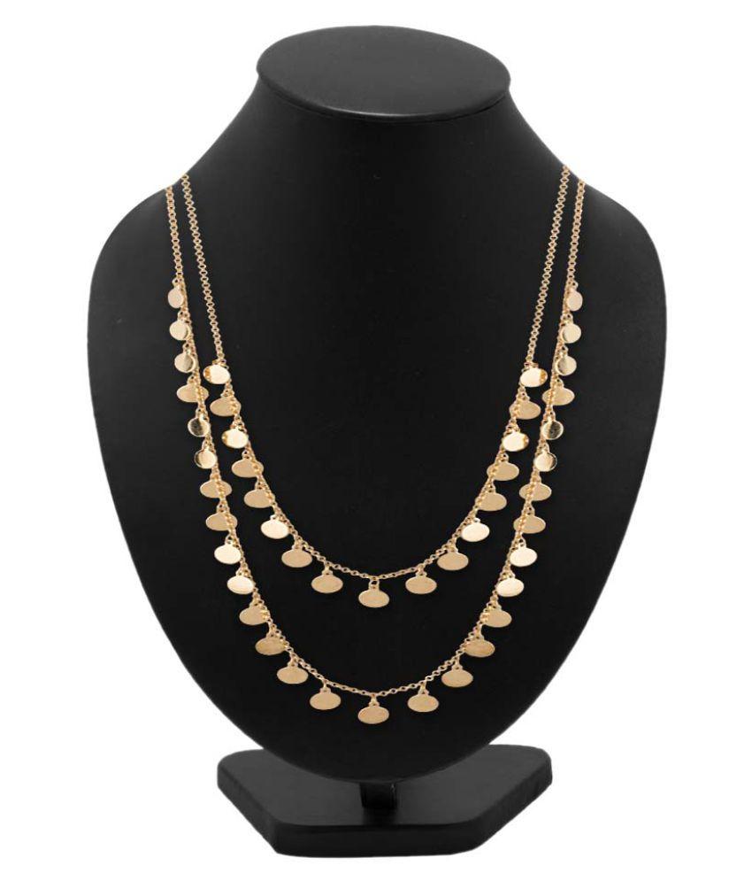 Voylla Golden Necklace