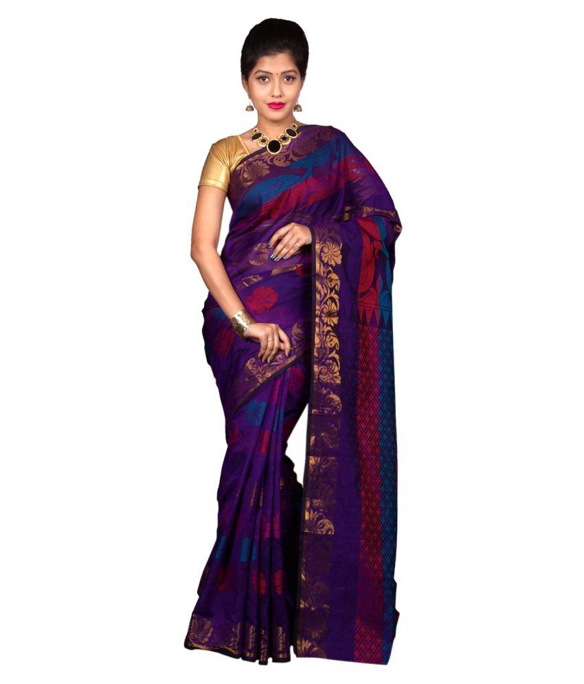 Gajkeshri Multicoloured Banarasi Silk Saree