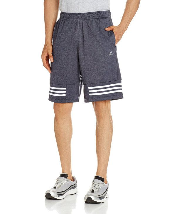 Adidas Grey Polyamide Shorts