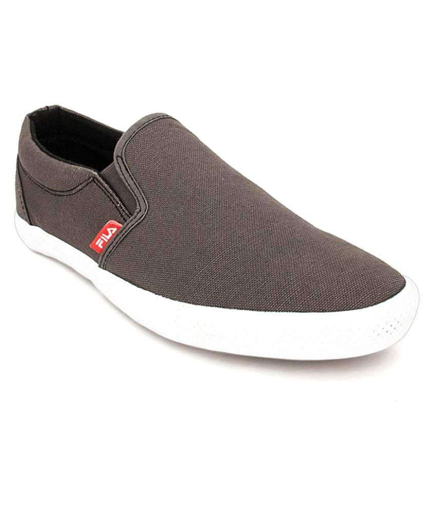 2d9fb0ed2af6 Fila FILA BROWN SNEAKERS KEAVE Sneakers Gray Casual Shoes - Buy Fila FILA  BROWN SNEAKERS KEAVE Sneakers Gray Casual Shoes Online at Best Prices in  India on ...