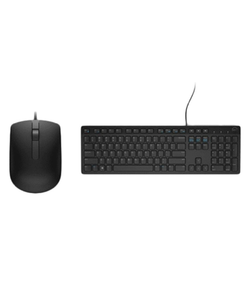 Dell Wired Keyboard Mouse Combo KB216 MS116