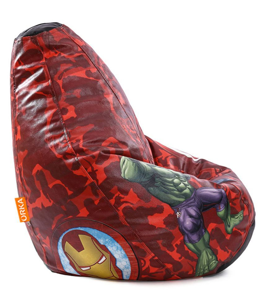 Fine Orka Marvel Avengers Bean Bag Cover Multi Colour Buy Gmtry Best Dining Table And Chair Ideas Images Gmtryco