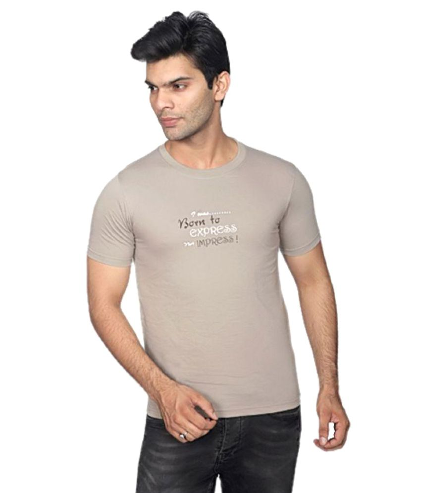 Rahis Grey Round T-Shirt