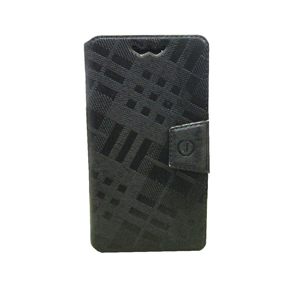 HTC First Flip Cover by Jojo - Black
