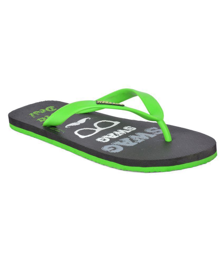 Wega Life Green Slippers
