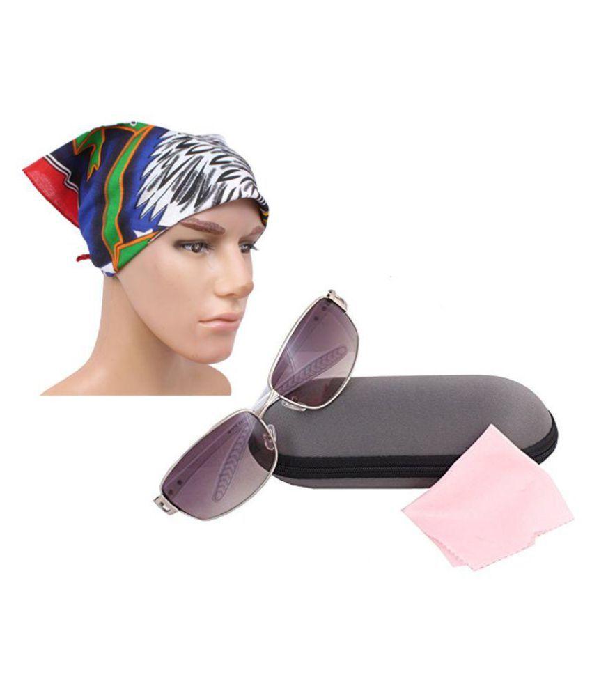 Sushito Multicolor Stylish Sunglass With Headwrap