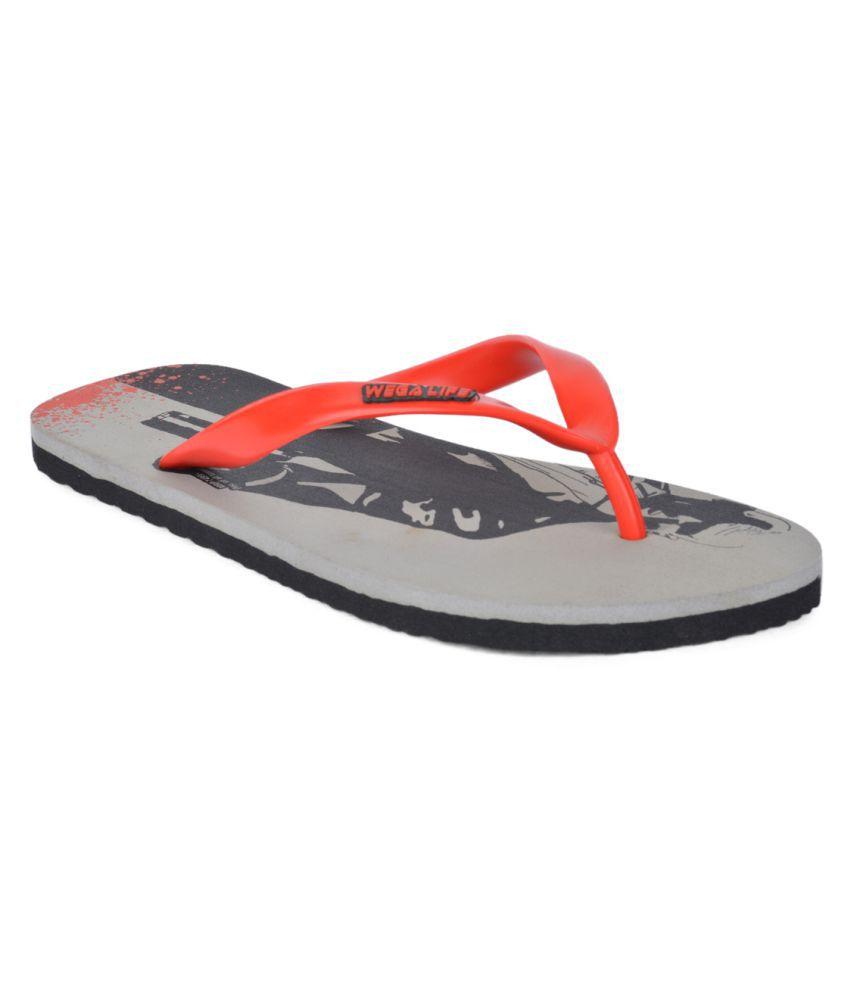 Wega Life Orange Slippers