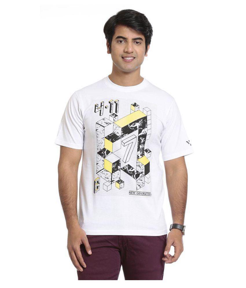 Seven White Round T-Shirt