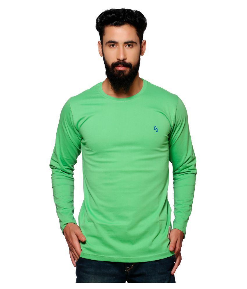 Nucode Green Round T-Shirt
